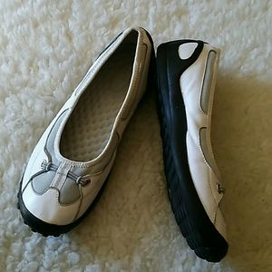 Privo by Clarks Slip-On Athletic Leather Flats